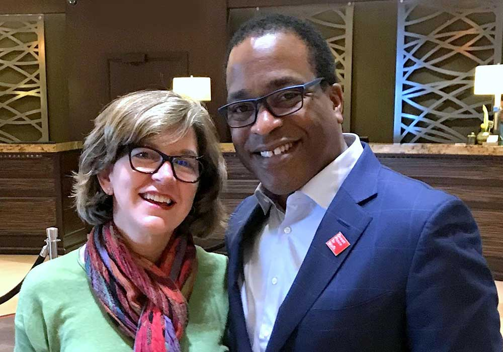With Great Place to Work CEO Michael C. Bush