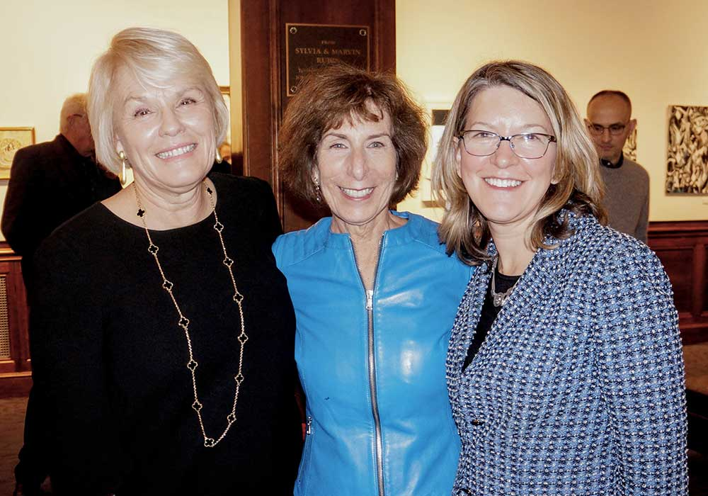 With Washington Speakers Bureau co-founder Paula Swain & PR maven Jill Totenberg